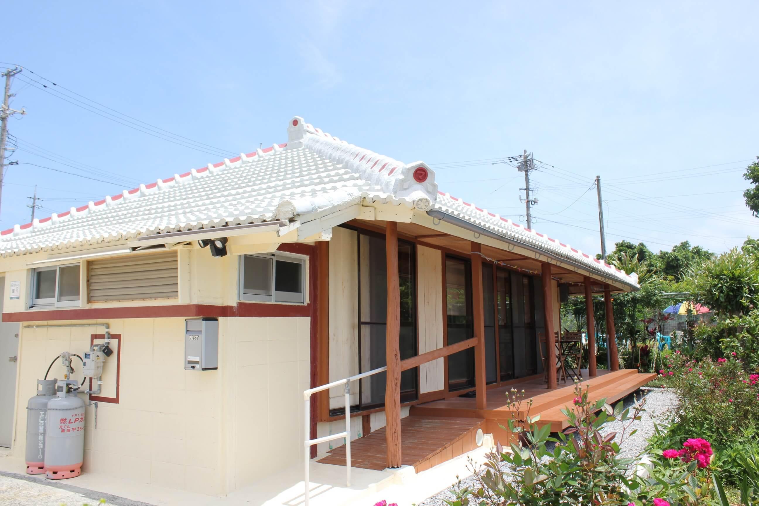 琉球的家 古宇利岛KANAU
